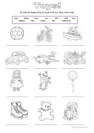 223 free esl toys worksheets