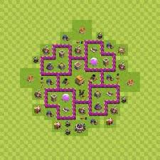 coc map layout th6 th6 trohpy clash of clans pinterest layouts and hall