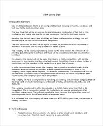 sample software business plan template 7 free documents