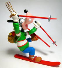 goofy skiing ornament grolier from our collection