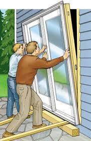 How To Install A Sliding Patio Door The Out Swing Door Is A Variant On The Hinged Patio Door