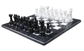black and white board games marble chess game handmade marble