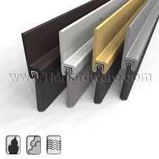 Door Bottom Sweeps For Exterior Doors Pemko 18061 Door Brush Seal Seal Drafts Door Bottom