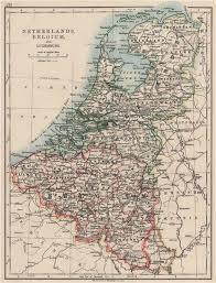 map netherlands belgium benelux netherlands belgium luxemburg johnston 1900