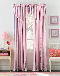 striped bedroom curtains beautiful curtains for girls bedroom decoration appealing pink