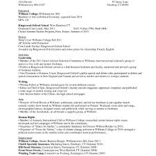 Resume Templates College Application Resume For College Application Template Best Photos Of High
