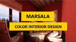 Color Interior Design 45 Creative Pantone Marsala Color Interior Design Ideas 2018