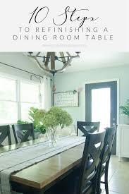 refinish dining room table dining room table reveal grace in my space