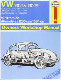 vw 1302s super beetle owners workshop manual haynes service and