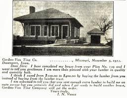 the gordon van tine 129 a popular and beautiful bungalow