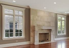 cantera tile living room mediterranean with chimney dallas