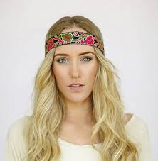 boho headbands godbead boho headband indian embroidered ribbon bohemian free