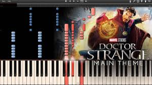 C3 Studios by Doctor Strange Main Theme Synthesia Piano Tutorial Midi U0026free
