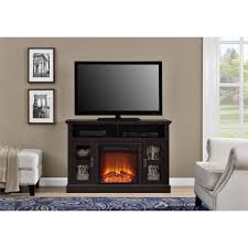 altra chicago electric fireplace tv console for tvs up to a 50