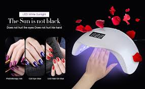amazon com led nail lamp 48w nail dryer with 4 timer setting and