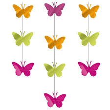 Hanging Party Decorations Butterfly Ceiling Decorations