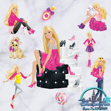 wall decal beautiful barbie wall decals barbie wall stickers