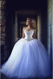 robe mari e orientale robe de mariée princesse bouffante avec pailleté sur bustier à