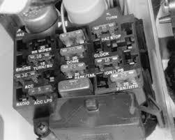 under dash fuses 1993 jeep fig fig 1 under dash fuse panel
