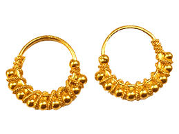 earrings gold jewellery