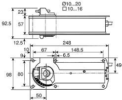 af24 sr modulating damper actuator 15nm 24 v ac dc belimo