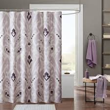 madison park bridgette sateen printed shower curtain free