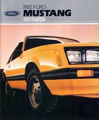 1982 mustang glx timeline 1982 mustang the mustang source
