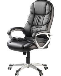 fauteuil bureautique fauteuil de bureau massant avec roulettes et 8 programmes de