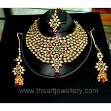Buy Dazzling Kundan Set In Online Shopping For Kundan Necklace Set Necklaces Unique