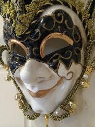 jester mask black gold masquerade venetian jester mask mulberry moon