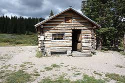 wooden log cabin log cabin