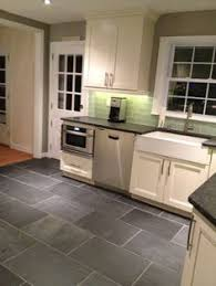 Slate Grey Kitchen Cabinets Definitely Want To Do This Tile In The Kitchen 12x24 Size In The