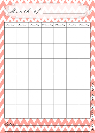 blank calendar freebie print out enough for 2014 and beyond