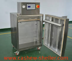 dzg 700 stand up cabinet type vacuum packaging machine for cashew