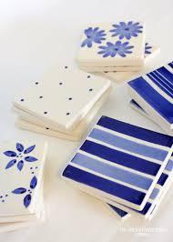 diy ceramic tile coaster simply tale