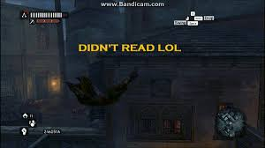 Ezio Memes - ezio didn t read didn t read lol know your meme