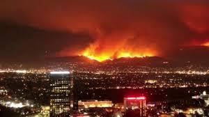Wildfire La Area by Crews Getting A Grip On Los Angeles U0027 La Tuna Wildfire Nbc News