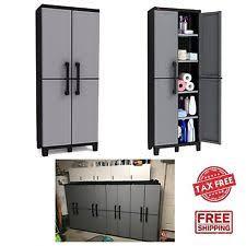 Outdoor Storage Cabinet Outdoor Storage Shed Ebay