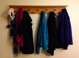 the modern diy life diy wall hanging coat rack