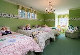 Wallpaper Borders For Girls Bedroom American Room Ideas For Dolls Kids Traditional With Wallpaper
