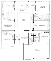 love this layout with extra rooms single story floor plans one
