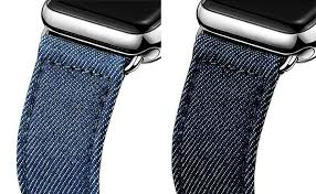 apple watch light blue denim watch band for apple watch 38mm 42mm 2 colors available