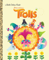 trolls golden book dreamworks trolls by kong