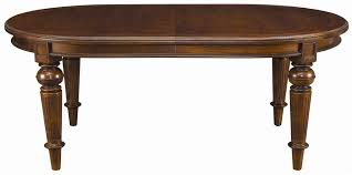 oval dining table with leaf thomasville fredericksburg 43421 762 oval dining table with two 20