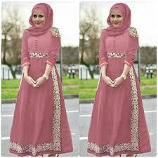 model baju muslim modern baju gamis balotelli modern modis trendy manole pink gamisalya