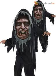 Reaper Halloween Costume Boys Mad Creeper Zombie Reaper Horror Halloween Costume Kids Child