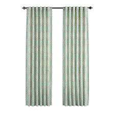 Waverly Curtain Panels Shop Waverly Moonlight Medallion 84 In Celestial Cotton Back Tab