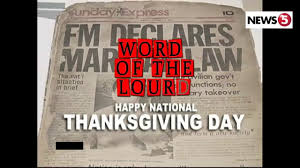 word of the lourd happy national thanksgiving day september 21