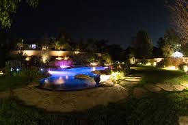 a beautiful southern california pool at night jonah weiland
