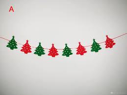 Pine Tree Flag Party House Bar Hotel Window Diy Christmas Decorations Socks